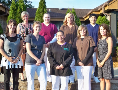 2014 Fall Dental Assisting class with 3 weeks under their belt already!